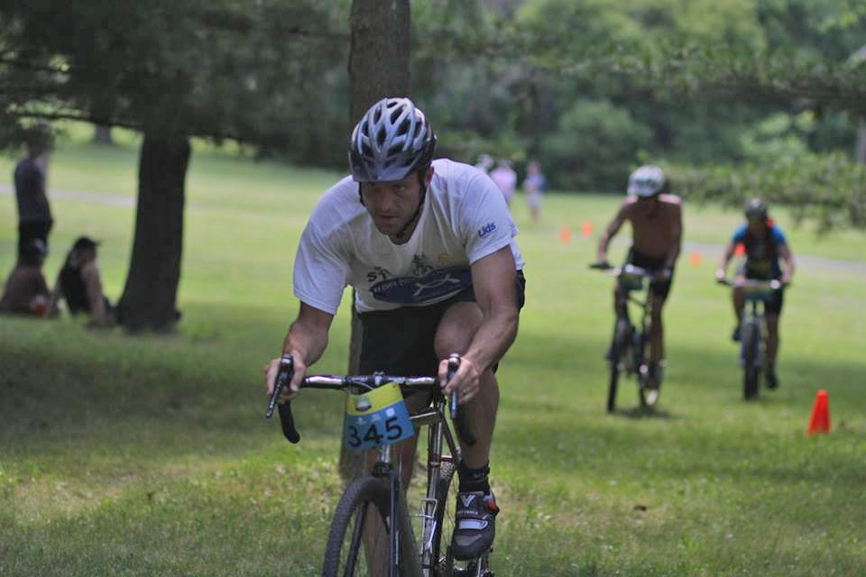 A photo by Saysetha from the 2016 Tri-Loppet. You'd do well to remember his name