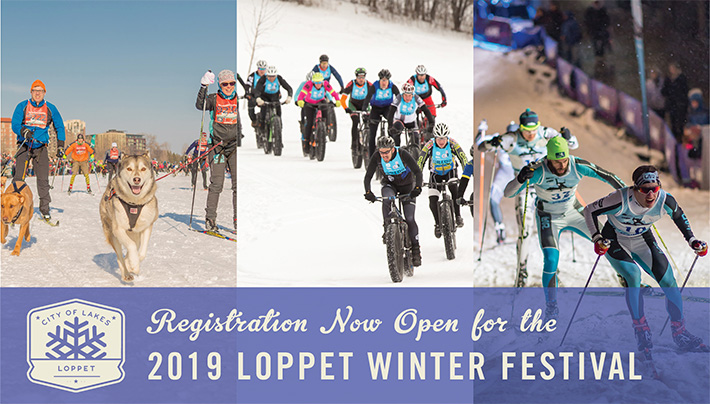 Registration Now Open for the 2019 Loppet Winter Festival