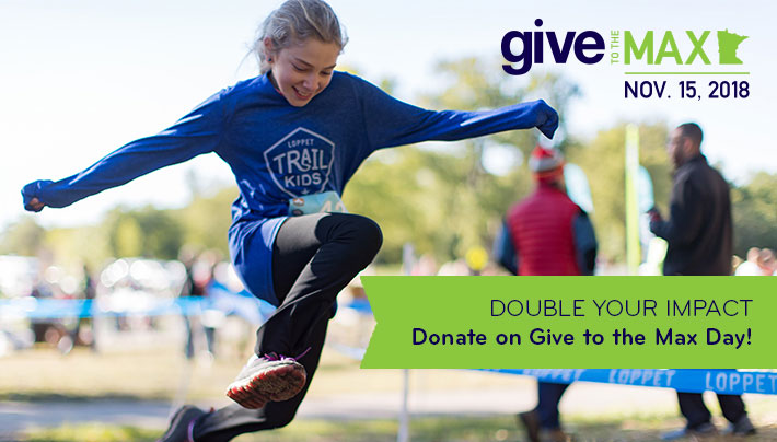 Double Your Impact - Donate on Give to the Max Day!
