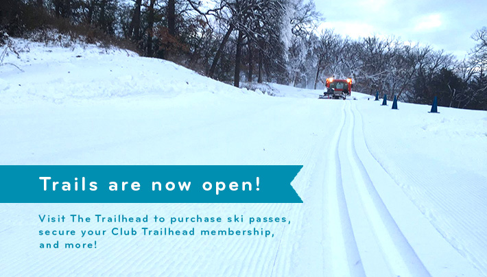 Trails are now open!