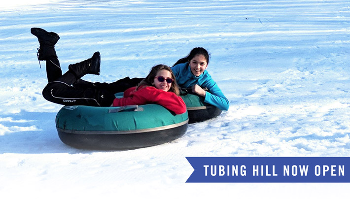 Tubing Hill Now Open