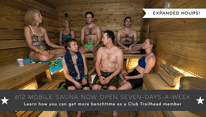 612 Mobile Sauna Now Open 7 Days a Week