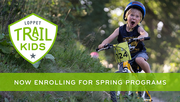 Loppet TRAIL KIDS - Now Enrolling for Spring Programs